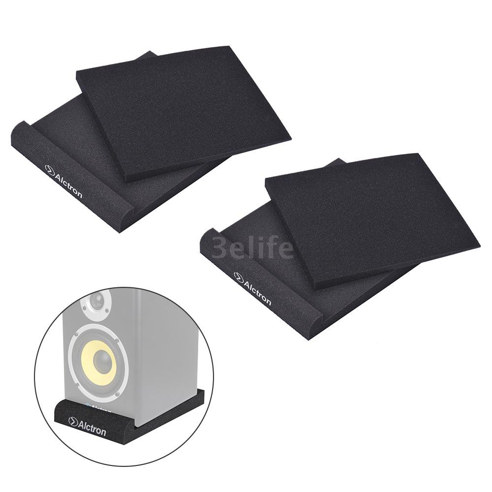 EPP08 Studio Monitor Speaker Acoustic Foam Shockproof Sound Isolation Pads for 8 Inches Studio Moni