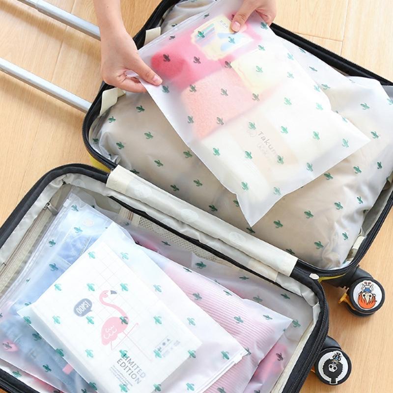 🙋♀️ถุงปิดผนึกกันน้ำ, กระเป๋าเดินทาง, กระเป๋าชุดชั้นใน, ถุง ziplock ใส, กระเป๋าเก็บของ