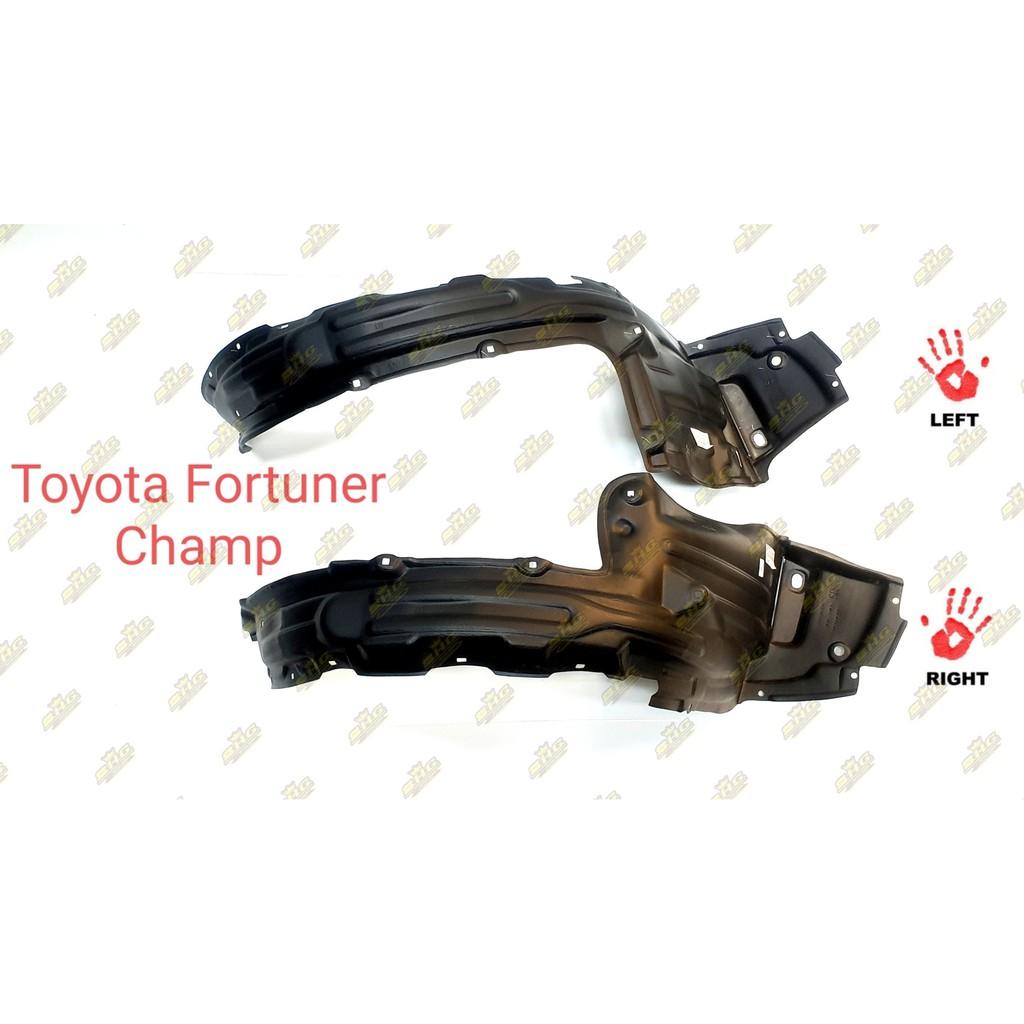 พลาสติกซุ้มล้อหน้า Fortuner Champ 2011 Toyota แท้