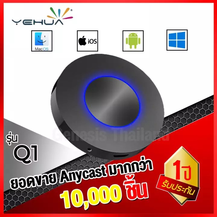 Q1 WiFi Display Dongle HD+AV output Mirroring wifi display receiver Android  TV streaming stick HDMI+USB+Audio miracast D