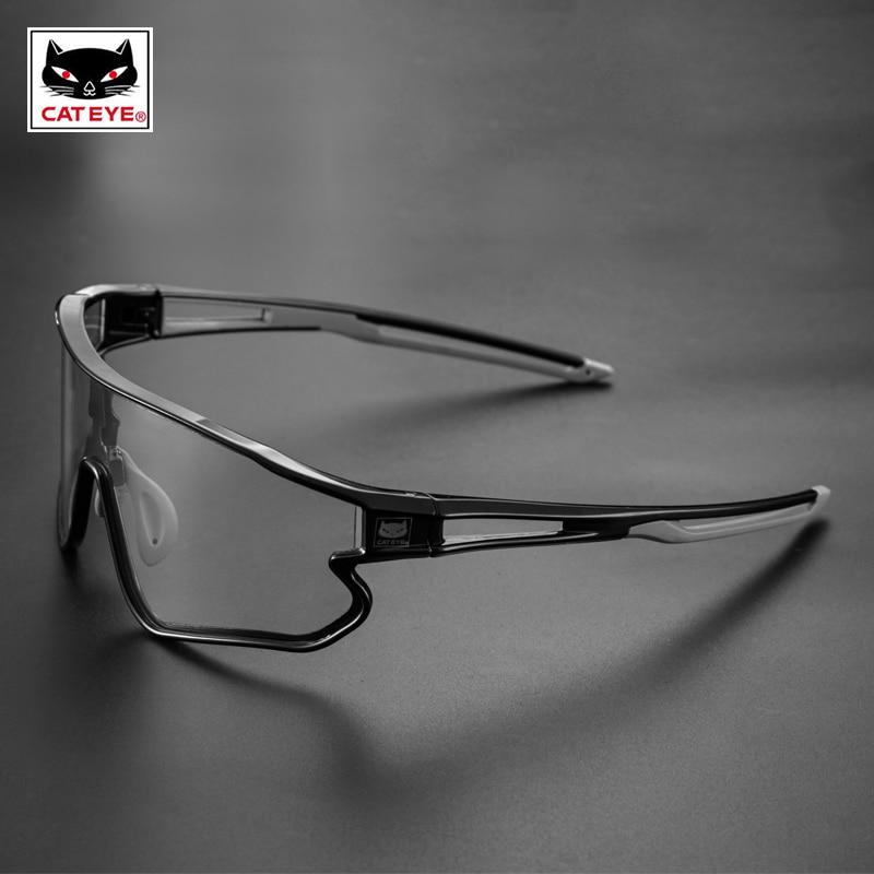 CATEYE Cycling Sunglasses Photochromic Sport Bicycle Sunglass Polarized Sunglasses Men Women MTB Bike Hiking Eyewear Glasses FUN