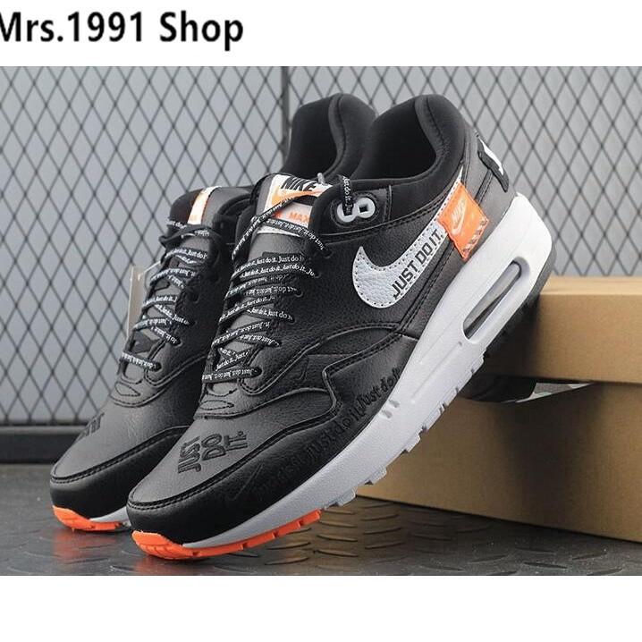 รองเท้าผ้าใบ Nike Air Force 1 X Air Max 1 X Just Do It X สีขาวรองเท้าวิ่งสีขาว