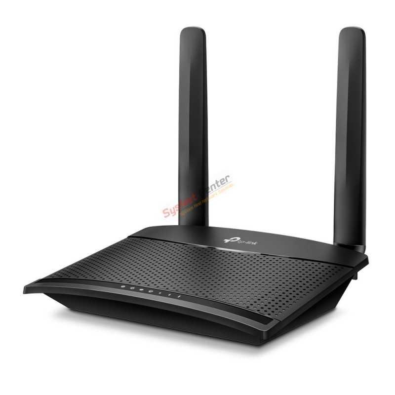 TP-Link MR100 Wireless N 300Mbps 4G LTE Router แบบใส่ Sim รองรับ 4G ทุกเครือข่าย