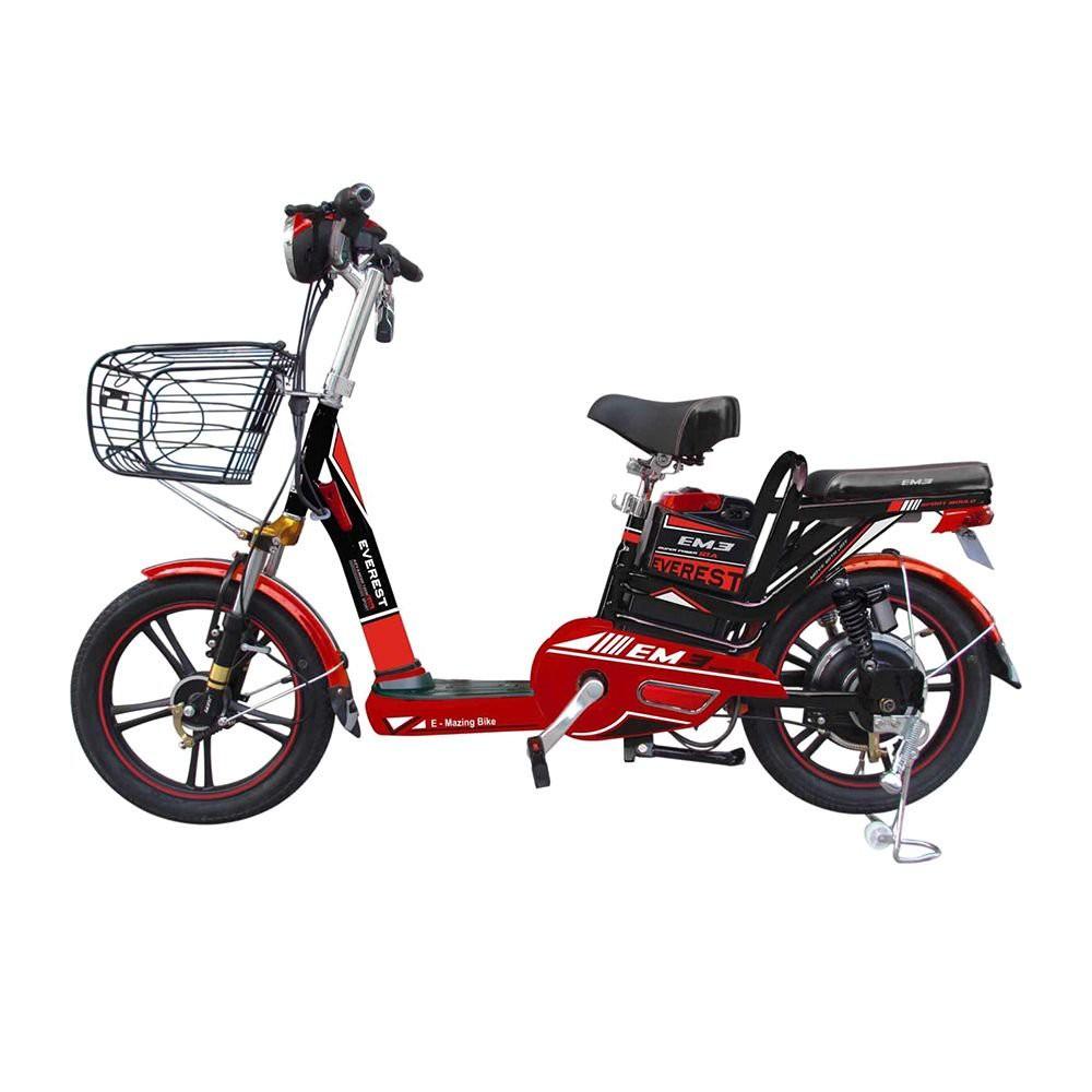 SCOOTER EVEREST 532045503 RED/BLACK รถสกูดเตอร์ไฟฟ้า EVEREST 532045503 แดง/ดำ จักรยานไฟฟ้าและสกู๊ตเตอร์ จักรยาน กีฬาและฟ