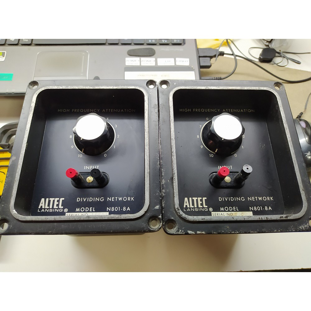 ALTEC LANSING N801-8A CROSSOVER NETWORK PAIR
