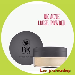 Review (On Sale!!) BK Acne Loose Powder 12g