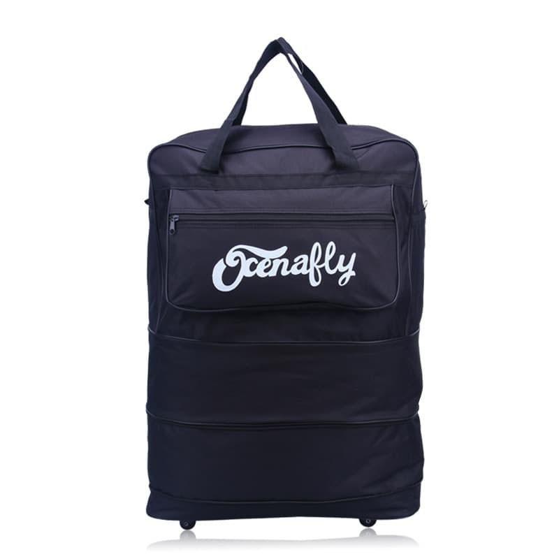 กระเป๋าเดินทางล้อลาก Luggage แบบพับเก็บได้ มี ถือได้ สะพายได้ กระเป๋าล้อลาก กระเป๋าเดินทางล้อลาก