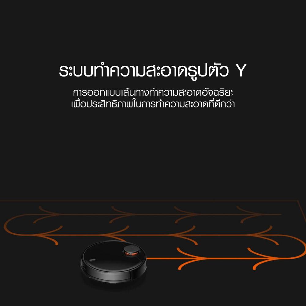 ศูนย์ไทย [รับ 500 Coins โค้ด SPCCB4QKCC] Mijia Robot Vacuum Mop Pro หุ่นยนต์ดูดฝุ่น ถูพื้น 2in1 เซ็นเซอร์ LDS  -1Y 6h7t