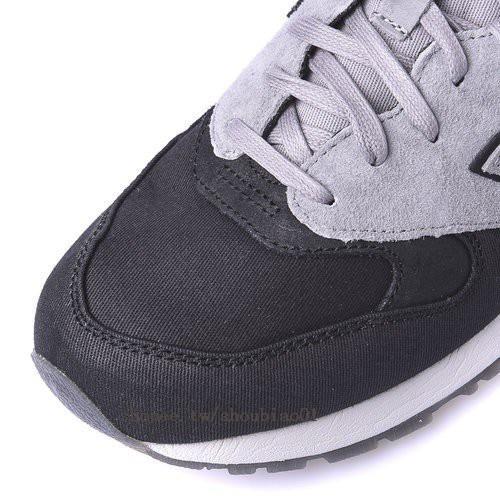 Sale ซื้อยุโรป NEW BALANCE 999 CANVAS NB รองเท้าหนังนิ่ม denim stitching  รองเท้าวิ่ง ML999WXA ชายและหญิงสีดำเทา ซื้อ - เท่านั้น ฿2 c2de01dddb02