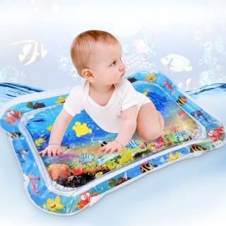 king Growth Baby Toys Inflatable Water Play Mat Tummy Time PVC Environmental Protection Summer