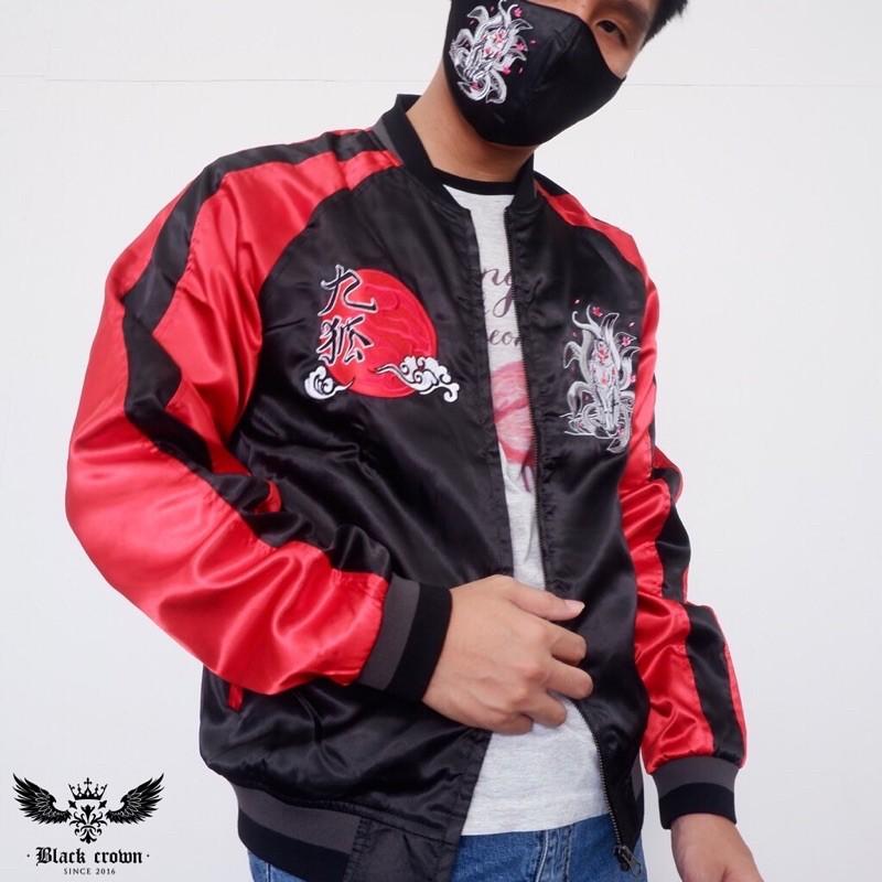 Sukajan jacket Ninetails