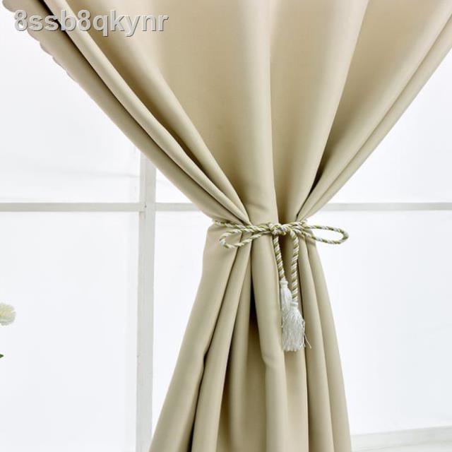 ✿✼ↂ> ฤดูกาลใหม่ ห้องนอนเรียบง่าย เรียบง่าย โดยไม่ต้องเจาะรู ติดตั้งผ้าม่าน แรเงาเต็มรูปแบบ ผลิตภัณฑ์สำเร็จรูป เช่า ห้องน