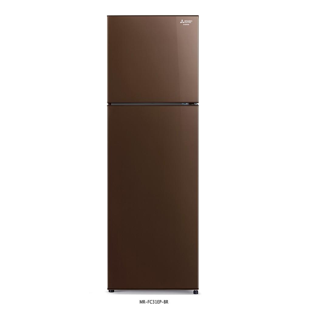 MITSUBISHI ELECTRIC ตู้เย็น 2 ประตู 10.2 คิว DESIGN INVERTER รุ่น MR-FC31EP *จัดส่งสินค้าเฉพาะกรุงเทพเท่านั้น*