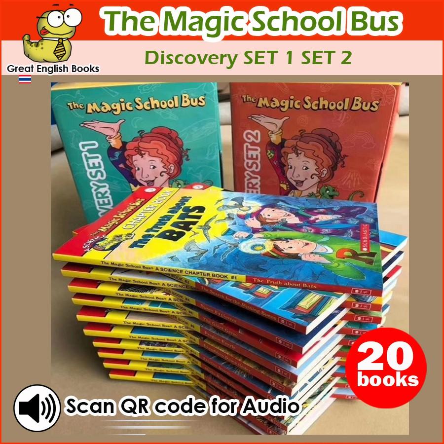 พร้อมส่ง  The Magic School Bus Discovery Set ~ Box1+Box2 รวม 20 books