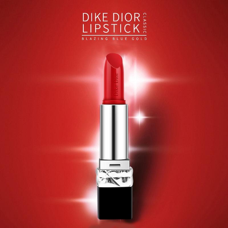 ▧ของแท้จากเคาน์เตอร์ DIKE/DIOR Dicor Dior Lipstick 888 Orange Red Matte 999 Positive Red Gift Box Set