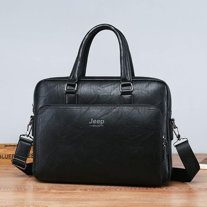 JEEP ธุรกิจกระเป๋าผู้ชายกระเป๋าถือ 2020 ใหม่อินเทรนด์ผู้ชายกระเป๋าเดินทางธุรกิจกระเป๋าถือกระเป๋าคอมพิวเตอร์กระเป๋าสตางค์