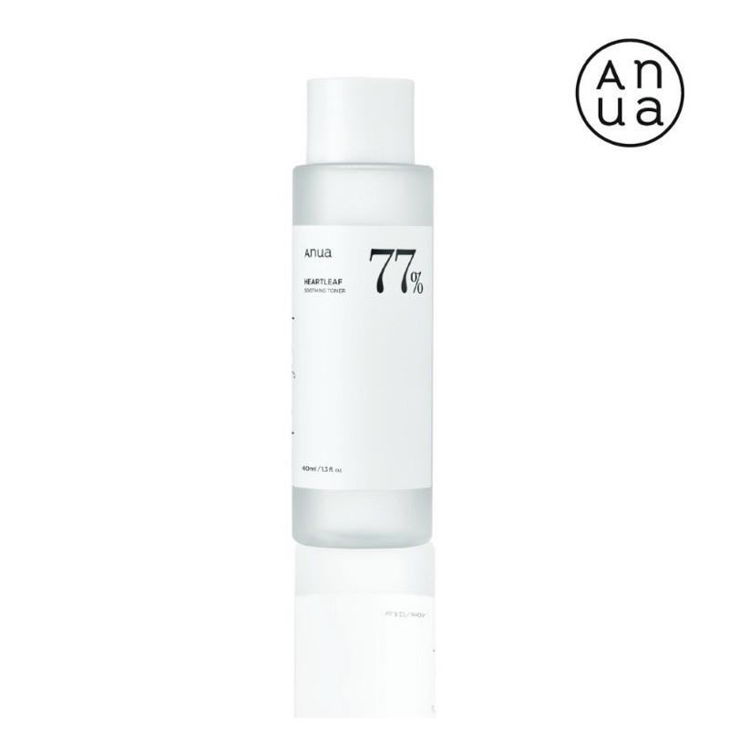 แท้ฉลากไทย Anua heartleaf 77% soothing toner 40 ml