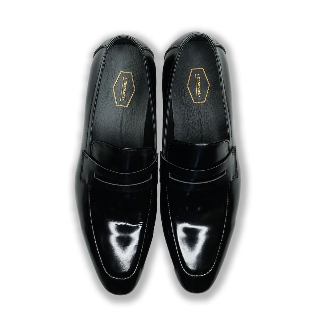 SUITCUBE รองเท้าคัชชูหนังสีดำผู้ชาย สวมใส่แล้วนุ่มสบายเท้า ราคาพิเศษที่นี่เท่านั้น รุ่น FS6618-2-BLK
