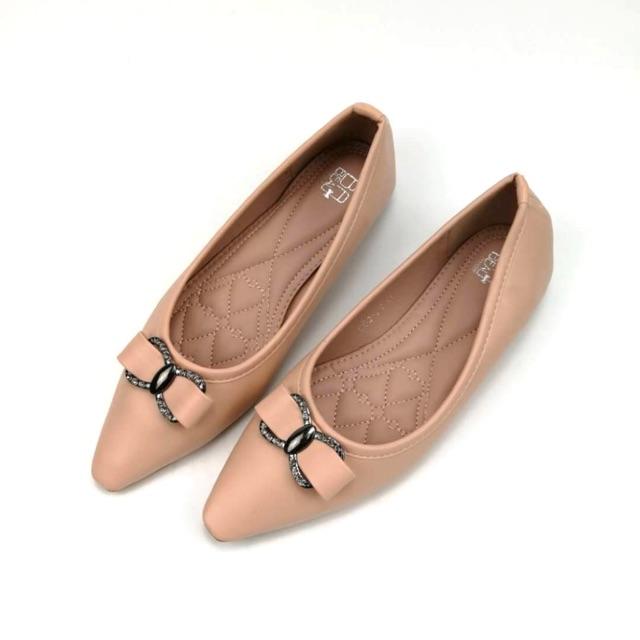 รองเท้าผู้หญิง คัชชูหัวแหลมงานกล่อง✨ จัดโปรโมชั่น‼️ลดพิเศษ