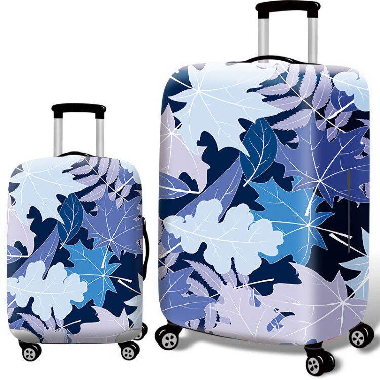 แบบผ้า ยืดหยุ่นสู ป้องกันฝุ่นถูกมาก ผ้าคลุมกระเป๋าเดินทาง 18-32นิ้ว อุปกรณ์เสริมกระเป๋าเดินทาง