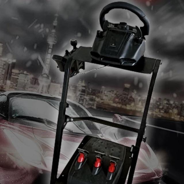 ค็อกพิท ขาตั้งสำหรับจอยพวงมาลัย Half cockpit wheel stand(ไม่รวมจอยพวมมาลัย)รองรับLogitech ThrustmasterและFanatec