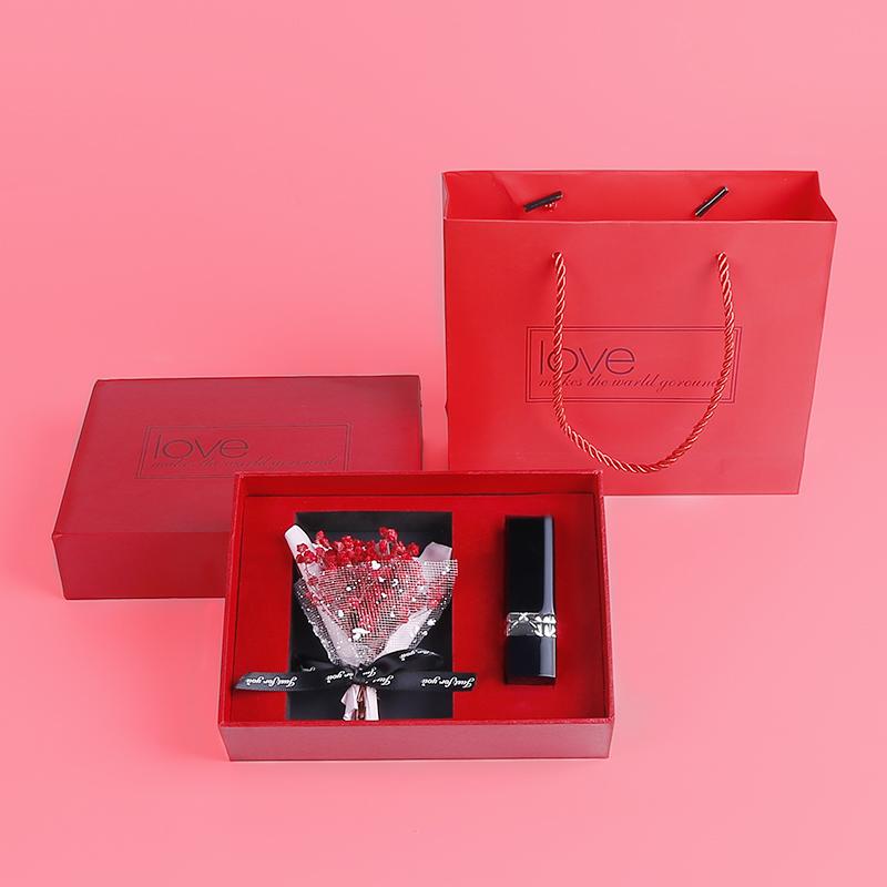 DiorDior Lipstick Lieyan ลิปสติกสีฟ้าและสีทอง999Matte Moisturizing Metal CLASSIC สีแดง520กล่องของขวัญ Limited Edition