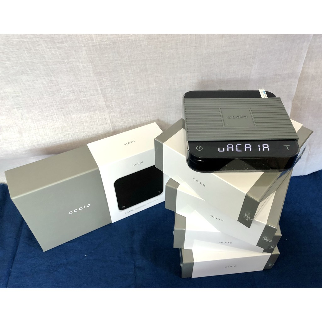 Acaia Pearl Black scale สีดำ มีแค่ 4 เครื่อง coffee Bluetooth Waterproof Electronic Scale เครื่องชั่งกาแฟทำมือ Acaia