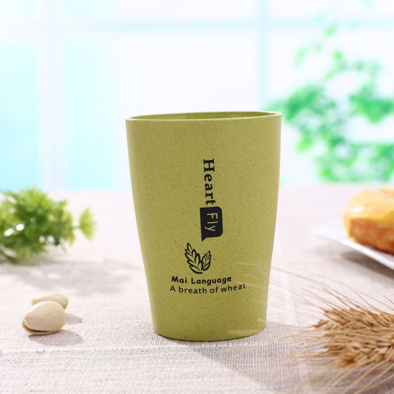 Cheapest Price [SY SHOP]Gargle Cup Wheat Straw Fiber Eco