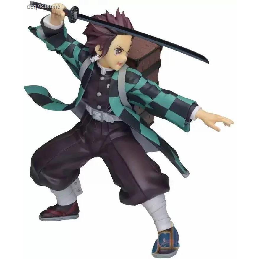คุณภาพสูง►SEGA Demon Slayer Blade Chiamon Tanjiro Backpack SPM Scenery Figure Boxed Model