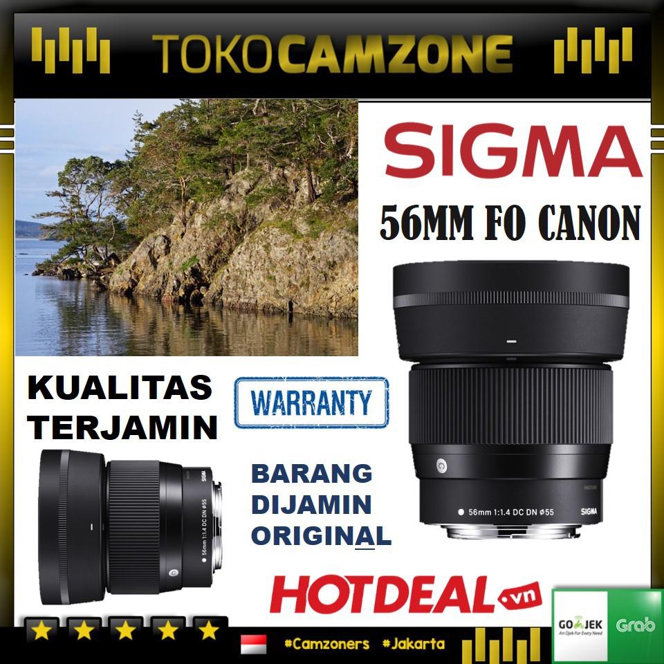 Sigma 56mm F1.4 Dc Dn เลนส์ออโต้โฟกัส Cfocus สําหรับ Canon Ef-m