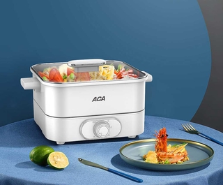 Review หม้อต้มไฟฟ้า ACA North America Electric Multifunction Electric Cooker, Electric Cooking