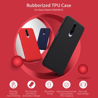 Image # 0 of Review [Xiaomi] เคส Nillkin Rubber Case Xiaomi Redmi K30 / Redmi Note 8 / Redmi Note 8 Pro / Redmi Note 7