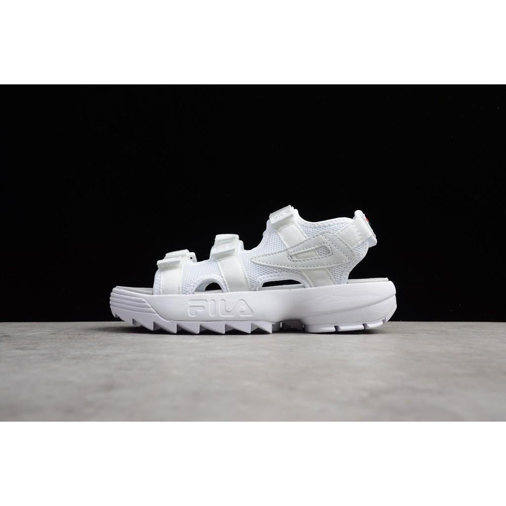 【Jiaye】Original FILA Disruptor2 แท้ รองเท้าผู้ชาย รองเท้าผู้หญิง แฟชั่น ไม่เป็นทางการ ชายหาด รองเท้าแตะ