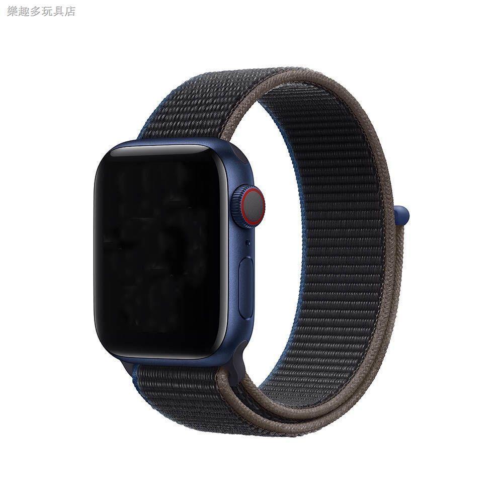 สายนาฬิกาข้อมือไนล่อนสีรุ้งสําหรับ Applewatch6 / Se / 5