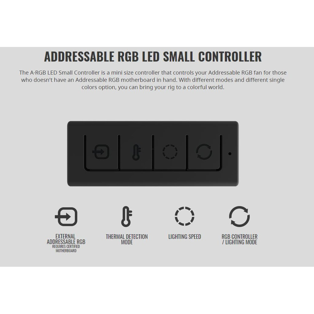 CM Addressable RGB LED Small Controller | Shopee Thailand