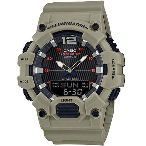 CASIO Standard นาฬิกาข้อมือผู้ชาย สายเรซิน รุ่น HDC-700-3A3VDF