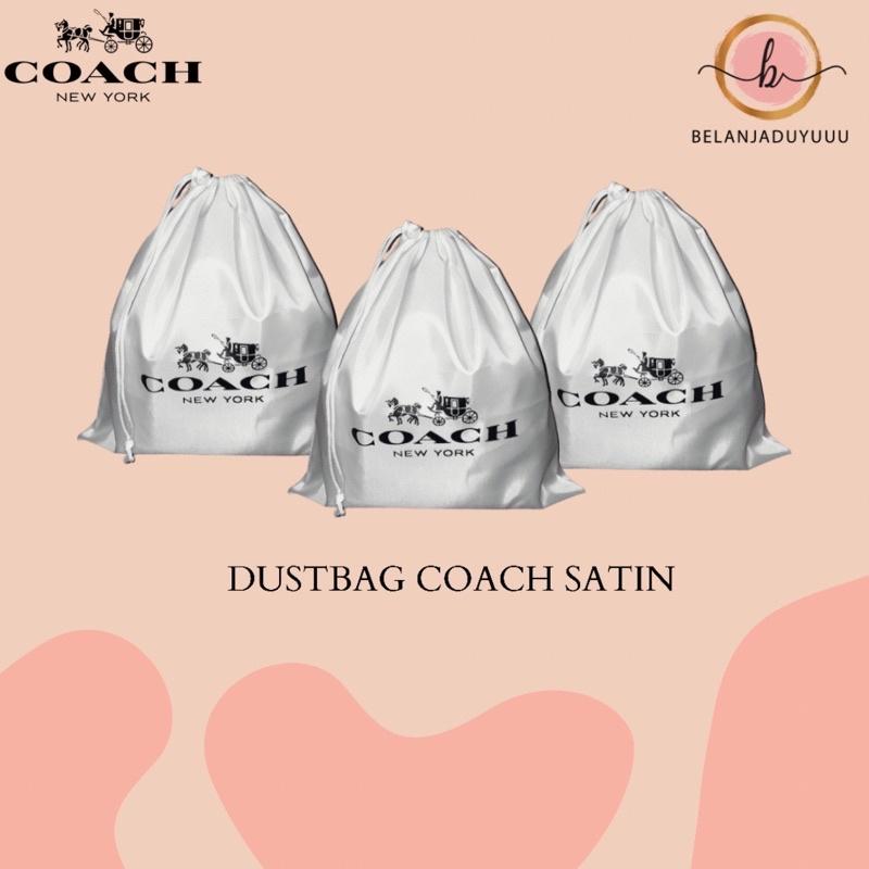 Coach กระเป๋าผ้าซาตินกันฝุ่น
