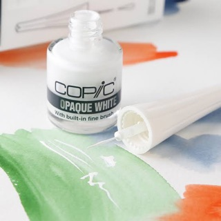 Copic opaque white สีขาว copic
