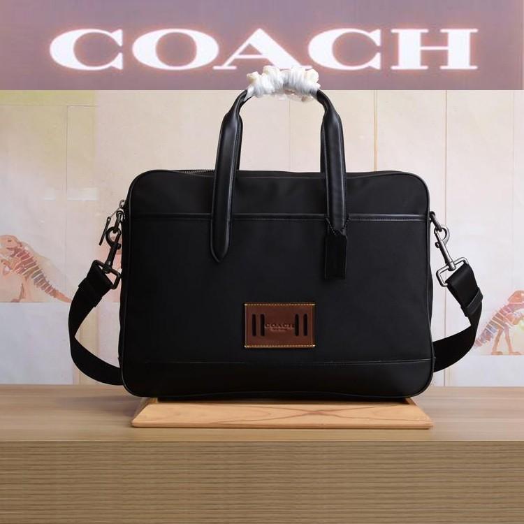 Coach F31277 กระเป๋าสะพายข้างผู้ชายกระเป๋าผ้าใบผ้า