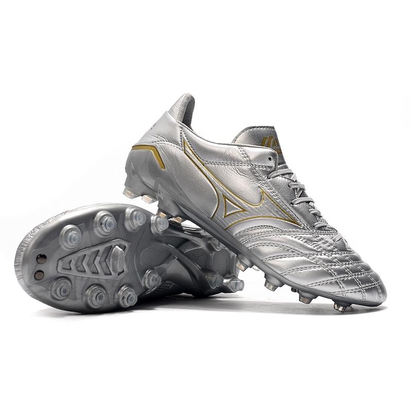 Mizuno Morelia Neo II FGรองเท้าฟุตบอล รองเท้ากีฬา 28946 rCU7