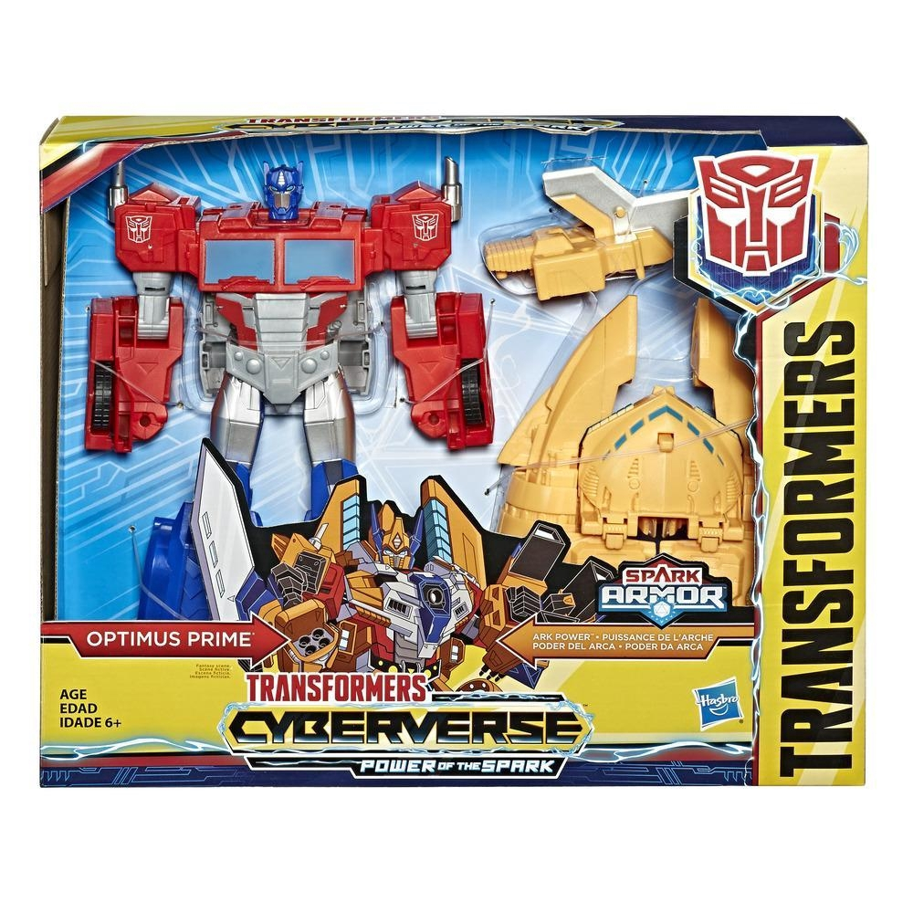 TRANSFORMERS Cyberverse Scout Optimus Prime HASBRO ACTION FIGURE NEW