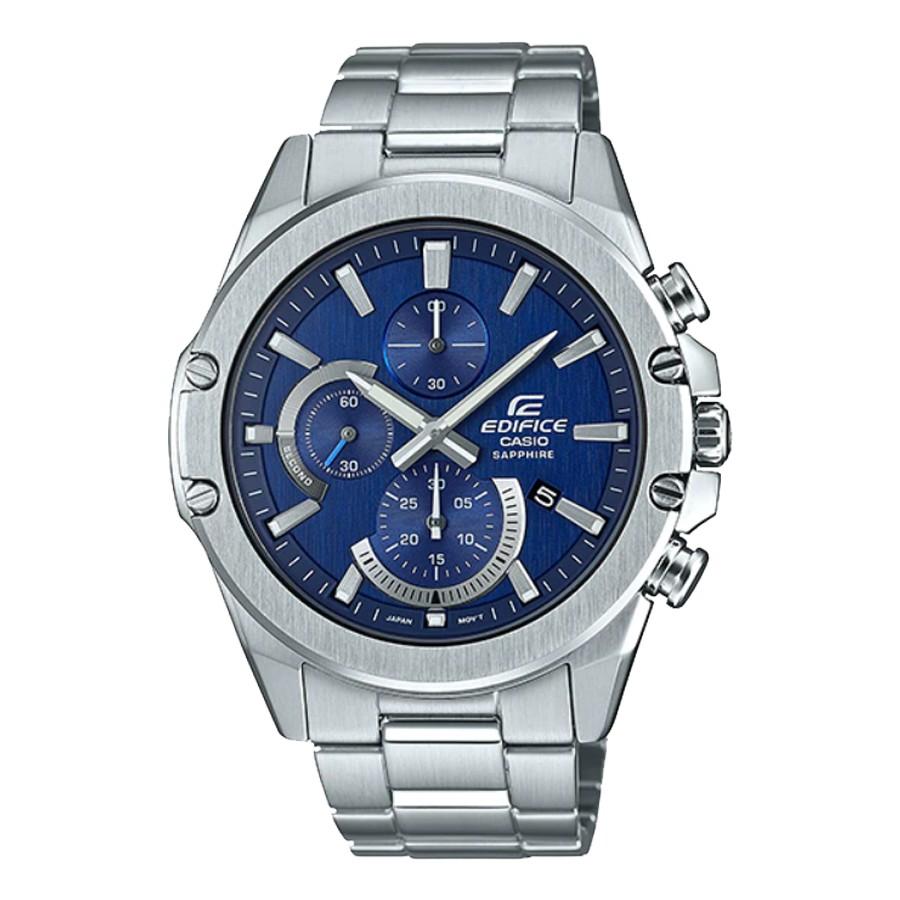 Casio Edifice นาฬิกาข้อมือผู้ชาย สายสแตนเลส  รุ่น EFR-S567D,EFR-S567D-2A,EFR-S567D-2AV - สีเงิน TDjg