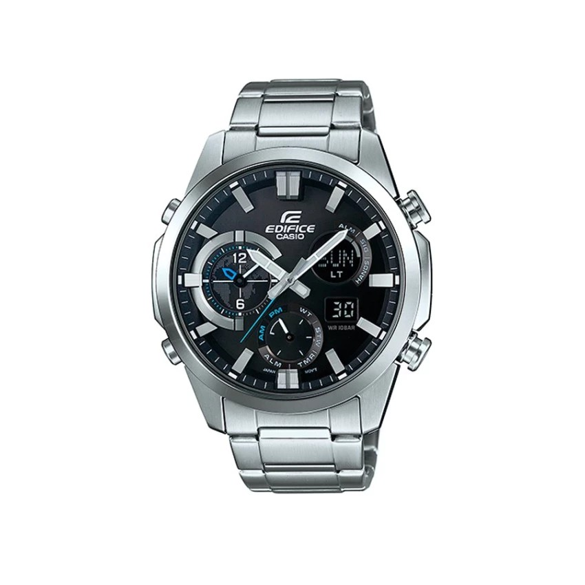 Casio Edifice นาฬิกาข้อมือผู้ชาย สีเงิน สายสแตนเลส รุ่น ERA-540D-1A