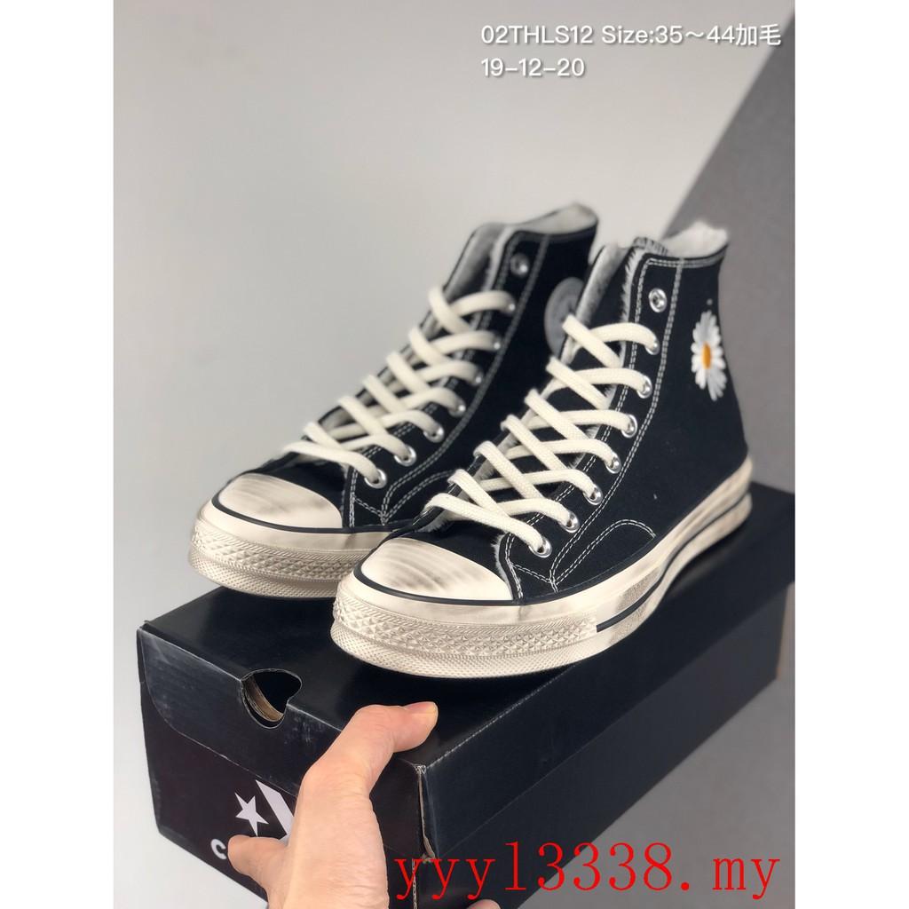 สต็อกพร้อม PEACEMINUSONE X Converse Quan Zhilong รองเท้าลำลอง รองเท้ากีฬา รองเท้าวิ่ง