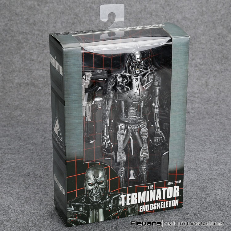 "The Terminator Endoskeleton VC Action Figure Collectible Model Toy 7"" 18cm"