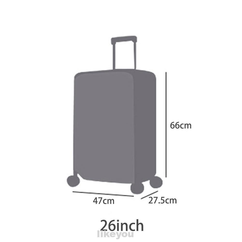 20''22''24''26''28'' ผ้าคลุมกระเป๋าเดินทางพีวีซีใส