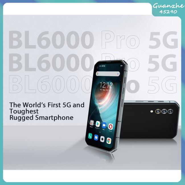 【Gz】 สมาร์ทโฟน Bl6000 Pro หน้าจอ 6.36 นิ้ว 48มม. 5กรัม 8Gb Ram 256Gb Ip68