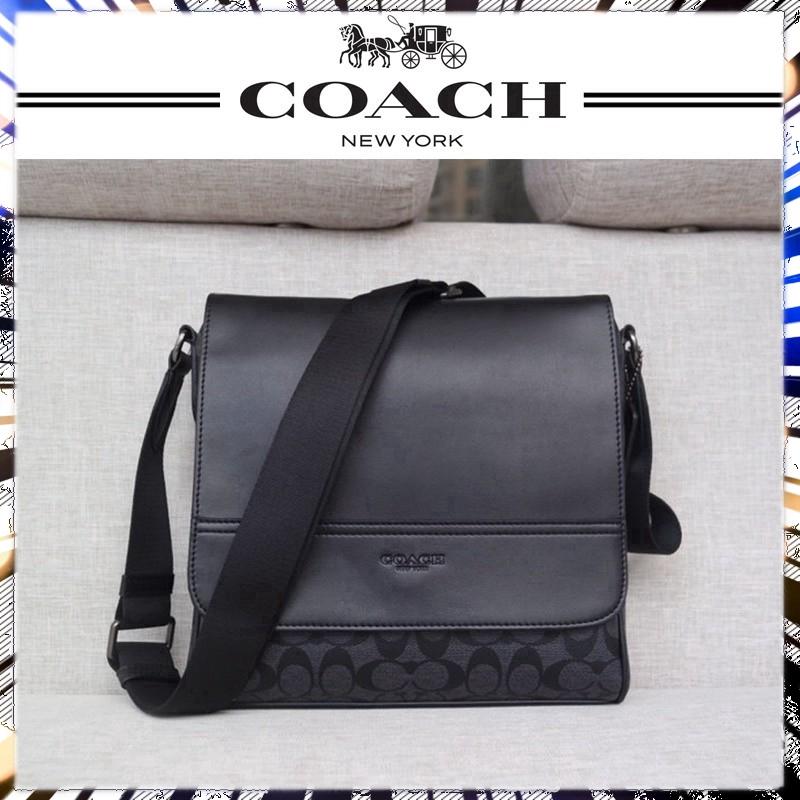 【NO4】coach F73339  กระเป๋าสะพายข้าง  bag กระเป๋าสะพายข้าง  กระเป๋าสะพายไหล่เดียว