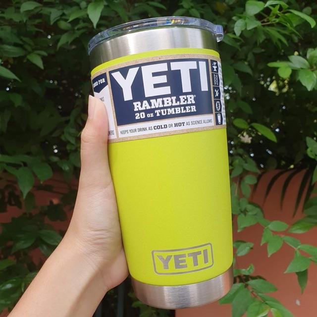 แก้ว YETI ของแท้จากอเมริกา  ของใหม่ ของแท้แน่นอนจ๊ะ ขนาด 20 oz