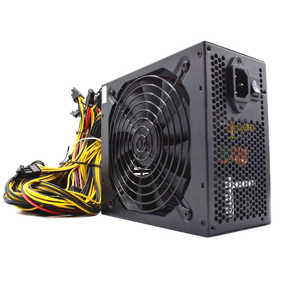 95 efficiency 2000W ATX 12V ETH Asic Bitcoin Miner Ethereum Mining ower Suly C  8 Grahics Cards